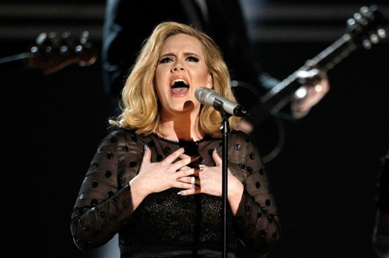 adele grammys performance 2012