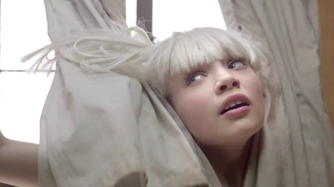 A flawless representation of music sias chandelier music video mozeypictures Gallery