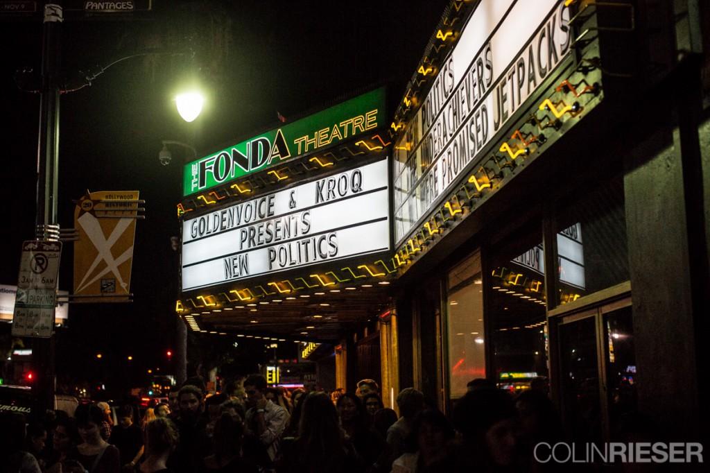 New Politics Web 33 1024x682 Concert Review: New Politics at The Fonda Theater November 1st, 2014